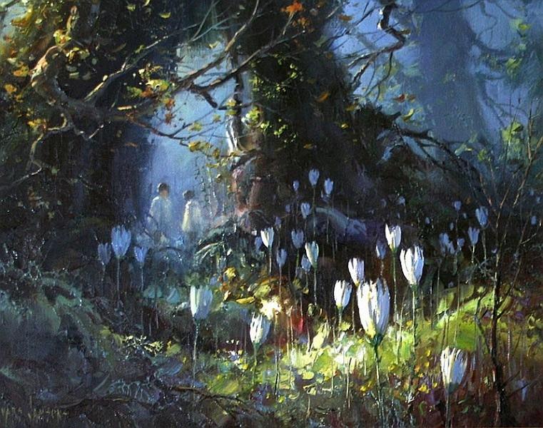 Красивые акварели Ivars Jansons