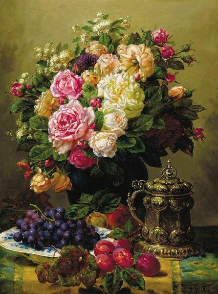 букеты цветов Jean-Baptiste Robie