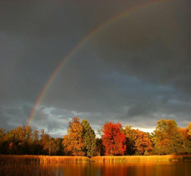 октябрь радуга фото