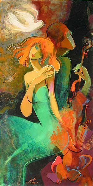 Картина с женским образом