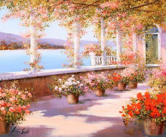 Италия в картинах Lucia Sarto