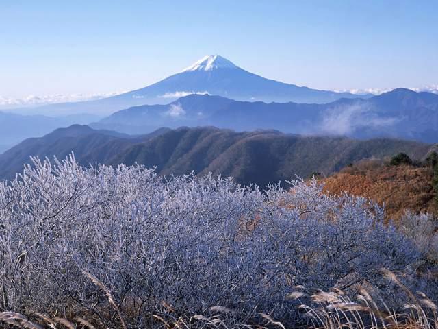 Высота горы Фудзиямы на фото