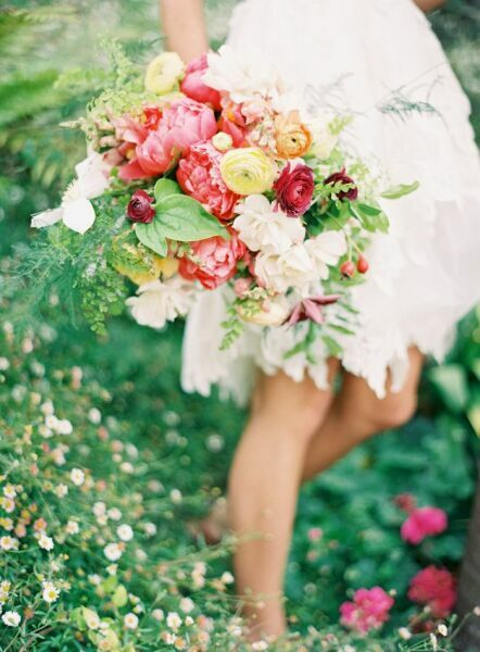 Красивые букеты цветов на фото