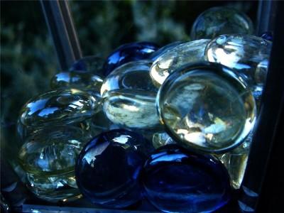 синие шарики