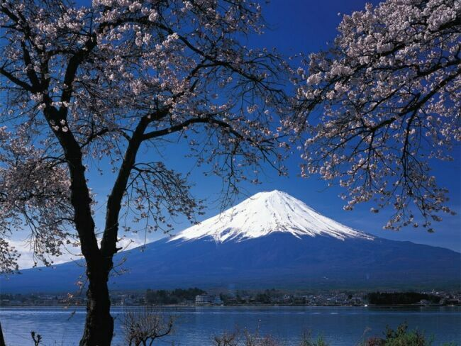 Фудзияма весной