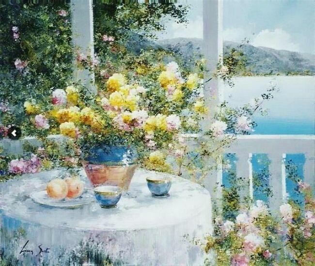 Букеты цветов в живописи
