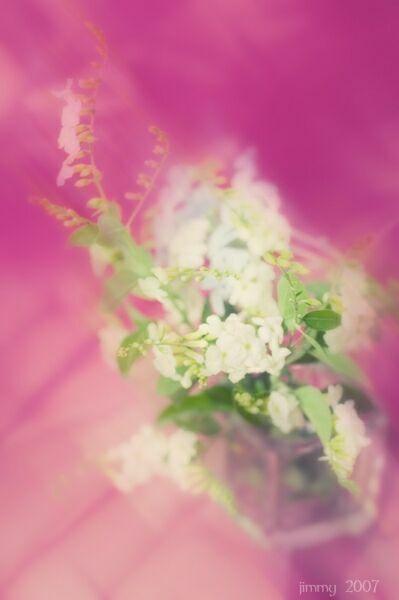 Акварельный натюрморт с цветами