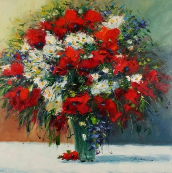 Красивый букет полевых цветов картинки