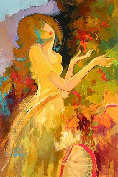 Красивые женские образы  Irene Sheri.