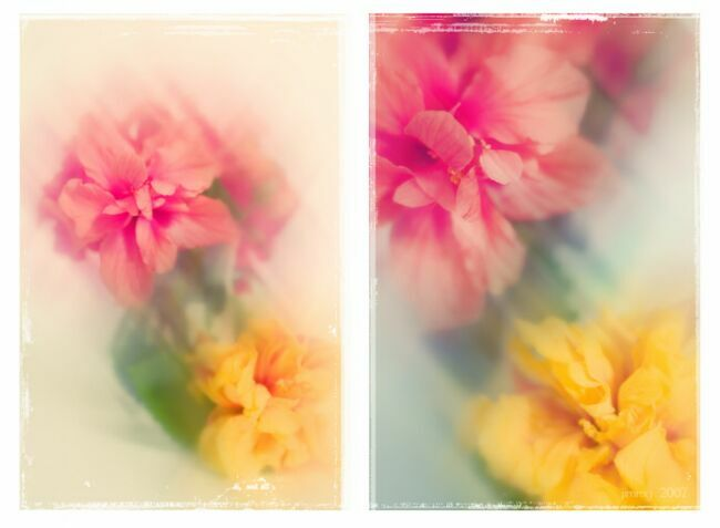 Букеты цветов акварелью