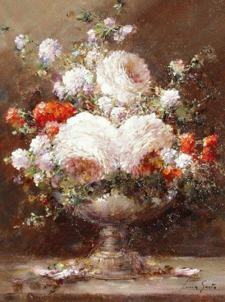 Букет цветов в живописи