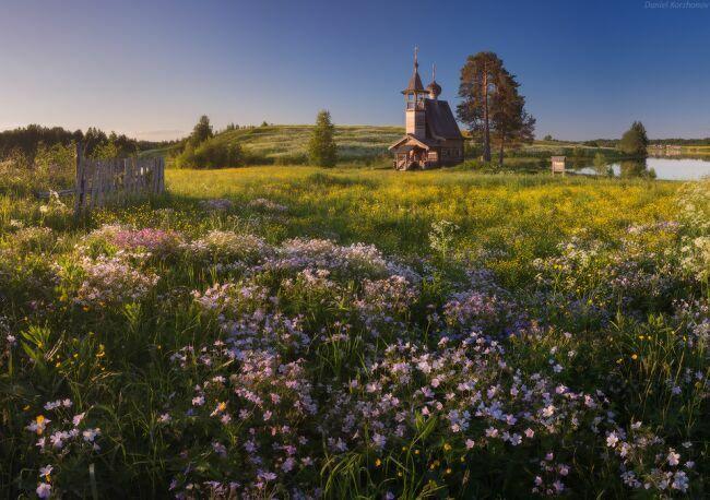 Красивые пейзажи России