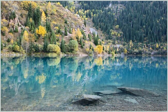 фотография озера Казахстана