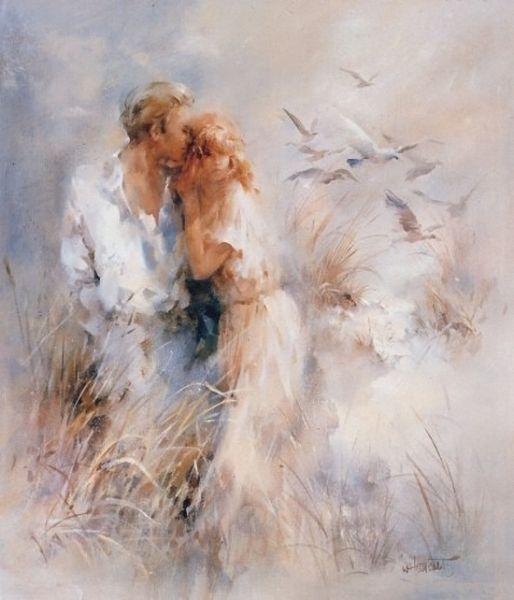 романтиная акварель