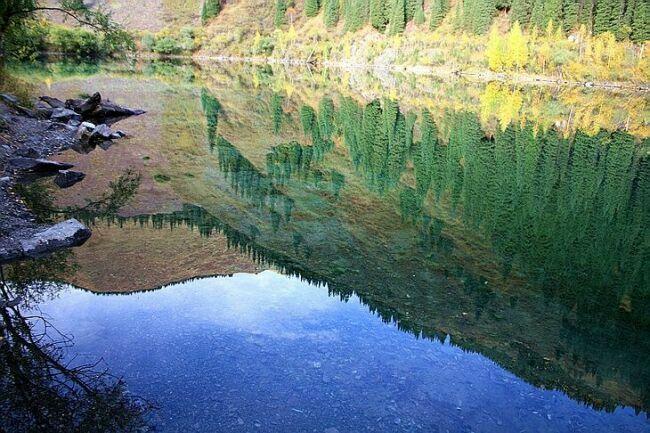 фото озера Казахстана