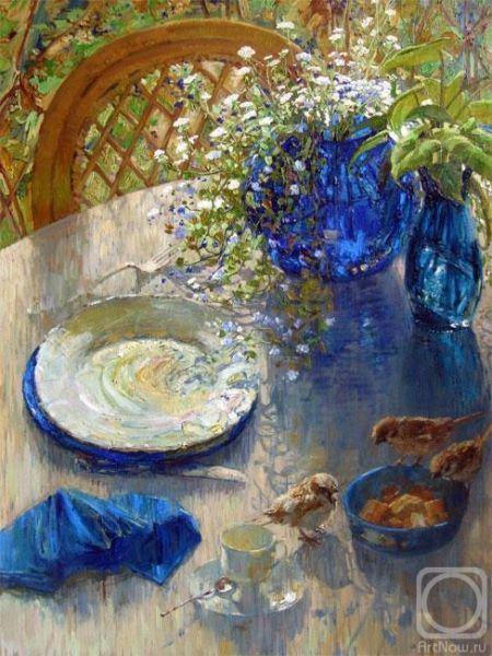 Полевые цветы в живописи Марии Павловой