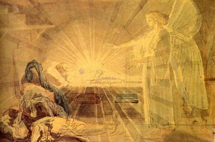 С Рождеством - картина А. Иванова