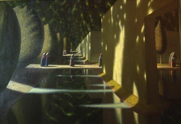 Таинственные картины художника А. Акилова