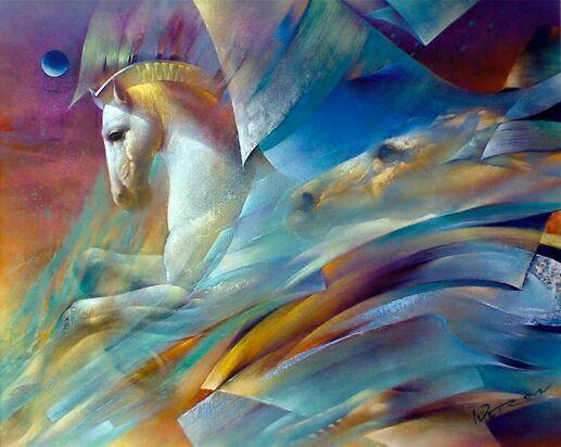 Лошади в болгарской живописи