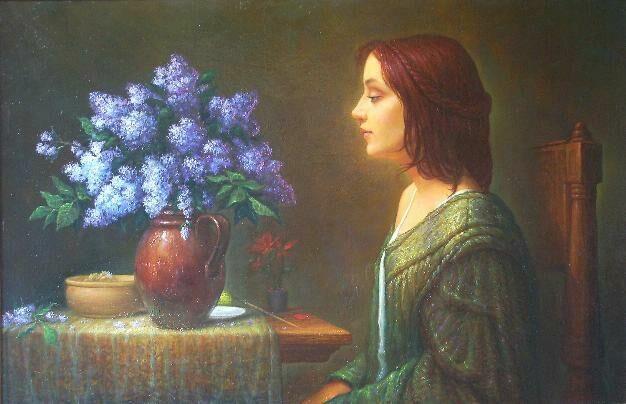 Майков художник светящихся картин