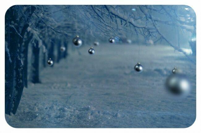 наш двор зимой