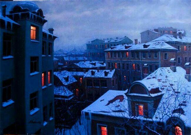 Московские пейзажи  Бутырского
