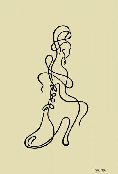 рисунки графика гелевая ручка