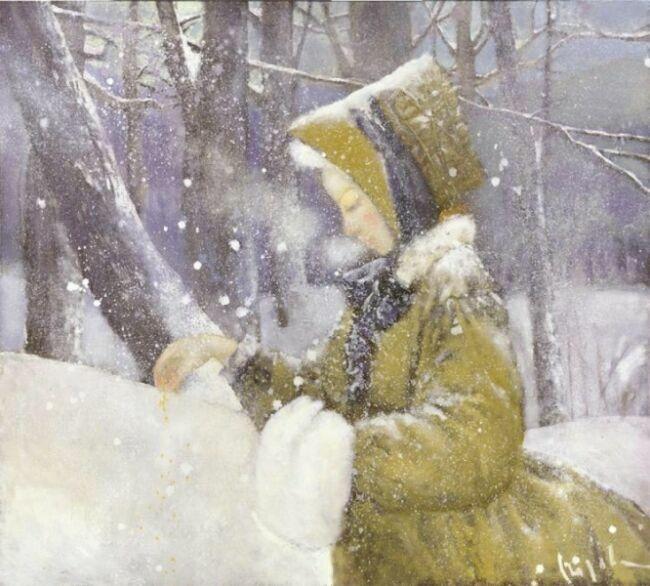 Зимние картины