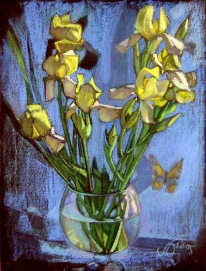 Цветы в интервью художницы