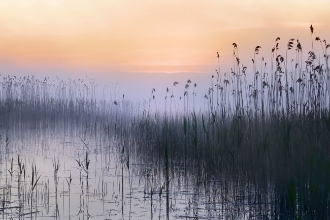 Красивый закат фото