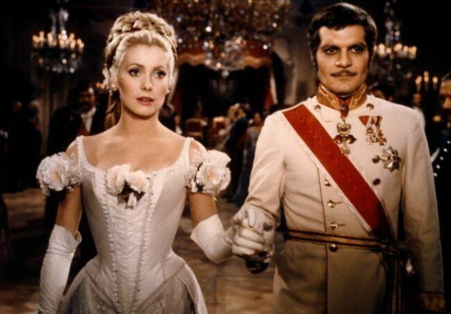 "фото Катрин Денев и Омар Шариф из фильма  «Майерлинг ""(1968)"