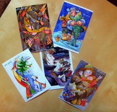 открытки Татьяны Седовой