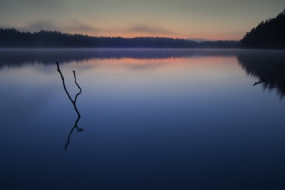 акварельные закаты