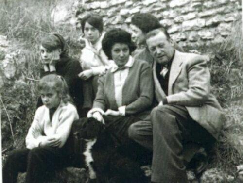 фото семьи Катрин Денев