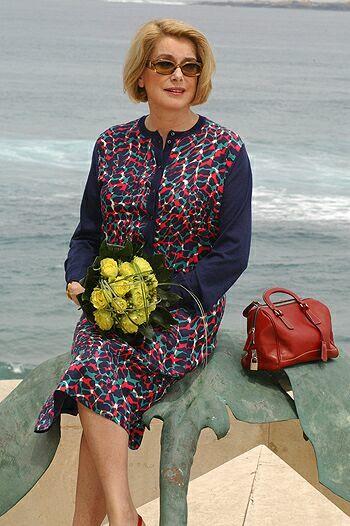 фото французской актрисы Катрин Денев
