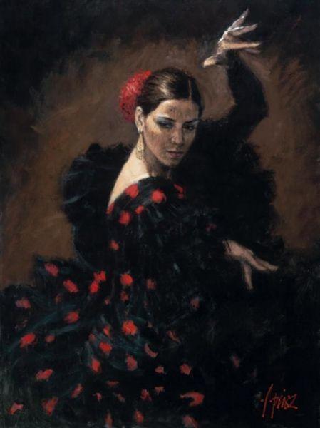 танец Fabian Perez