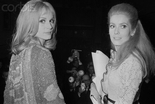 Catherine Deneuve i  Francoise Dorleac foto