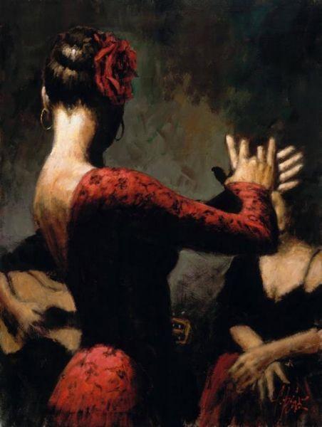Fabian Perez танцы