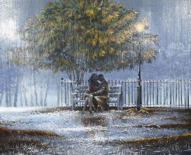 а за окном серый дождь