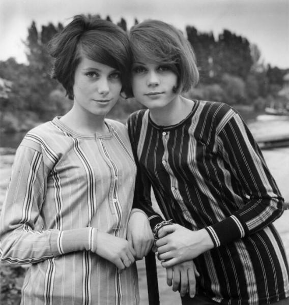 фото двух сестер Катрин и Француазы