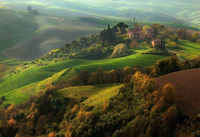 осенние холмы