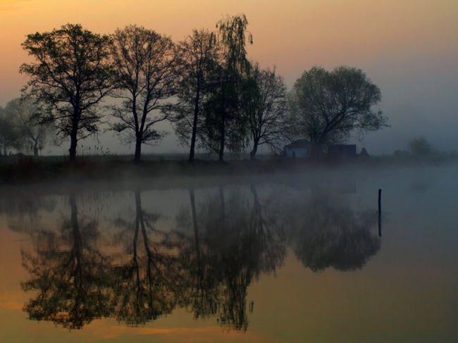 Marek Jedzer вечерний пейзаж