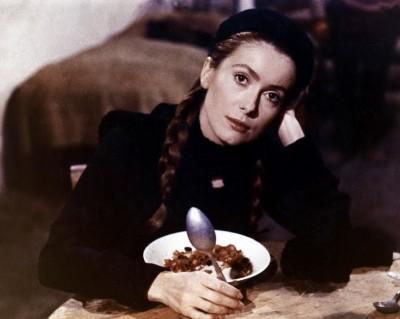 актриса Катрин Денев, 1970