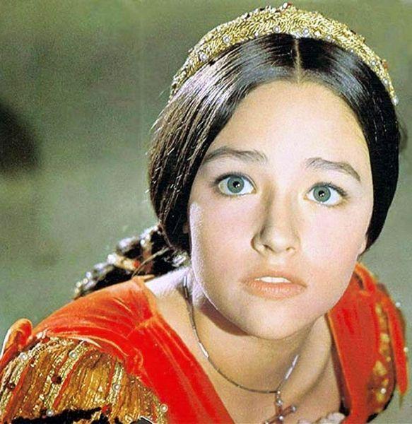 Оливия Хасси из фильма 1968 Ромео и Джульетта