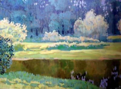 Картины художника В.Г. Серебровского