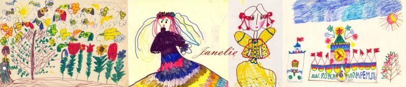 рисунки принцесс