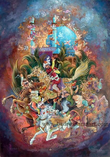 Сказочные картины Reza Badrossama