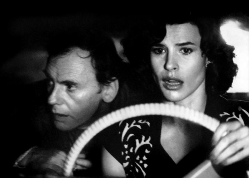 Жан-Луи Трентиньян и Fanny Ardant на фото