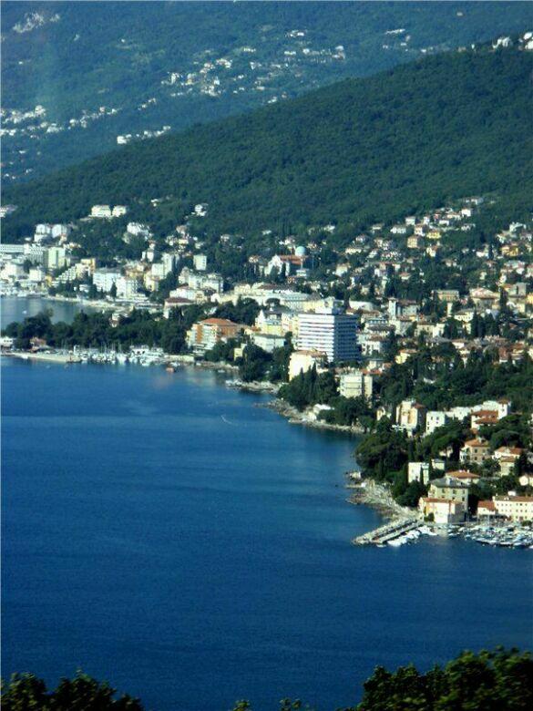 по дороге на хорватские плитвицкие озера