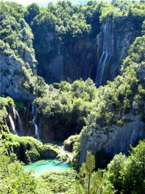 Плитвицкие водопады Хорватии